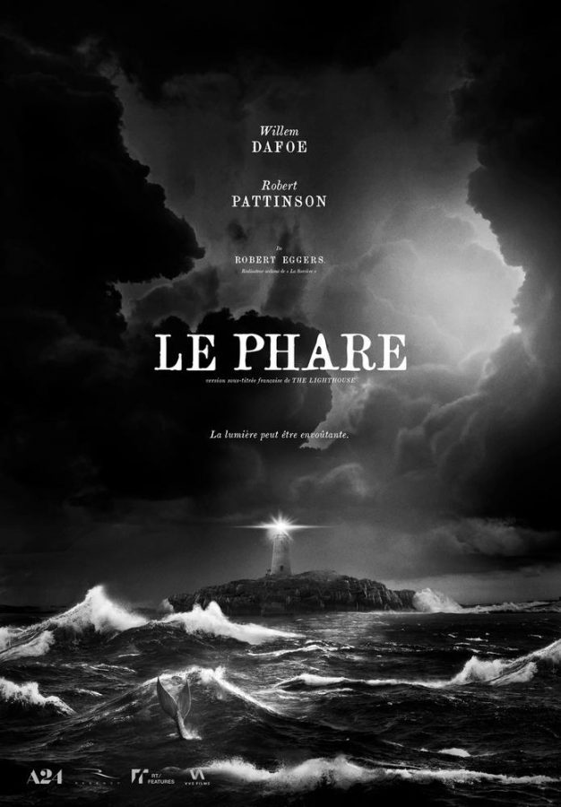 Pster film Le Phare The Lighthouse 2019